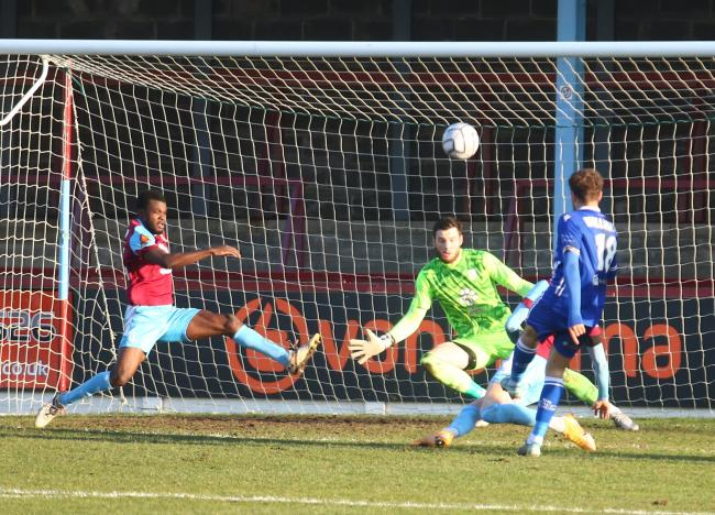 Weymouth's game against Boreham Wood has succumbed to the sub-zero temperatures Picture: MARK PROBIN