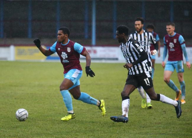 Weymouth expect to be without midfielder Jordan Ngalo 	            Picture: MARK PROBIN