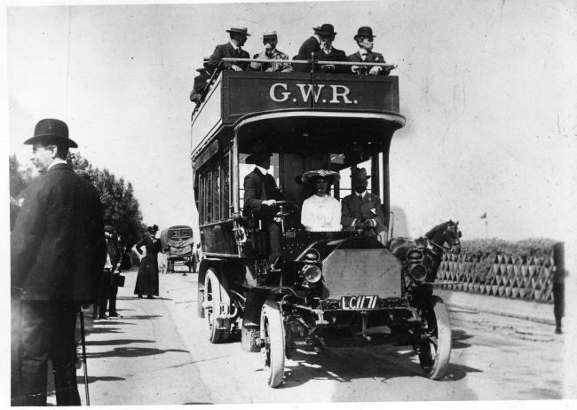 GWR's first bus journey in 1905