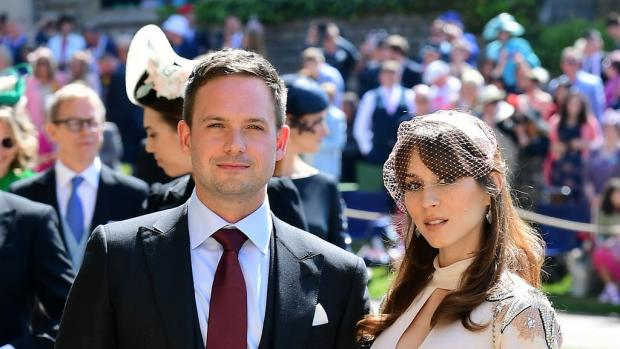 Dorset Echo: Patrick J Adams left the legal drama at the same time as the Duchess of Sussex before returning for the final season. (PA)