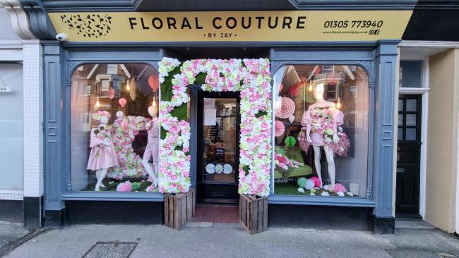 'The only shop in Weymouth which seems to be embracing the concept of a high street experience, is in my view, Floral Couture by Jay in Abbotsbury Road'