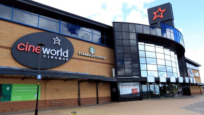 Cineworld announces reopening date for cinemas in the UK, (PA)
