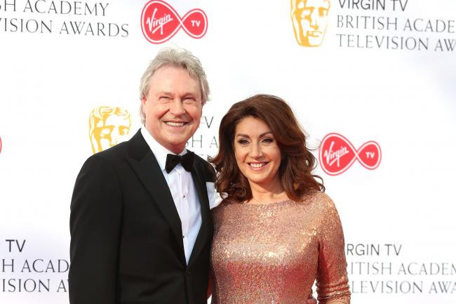Jane McDonald and Eddie Rothe