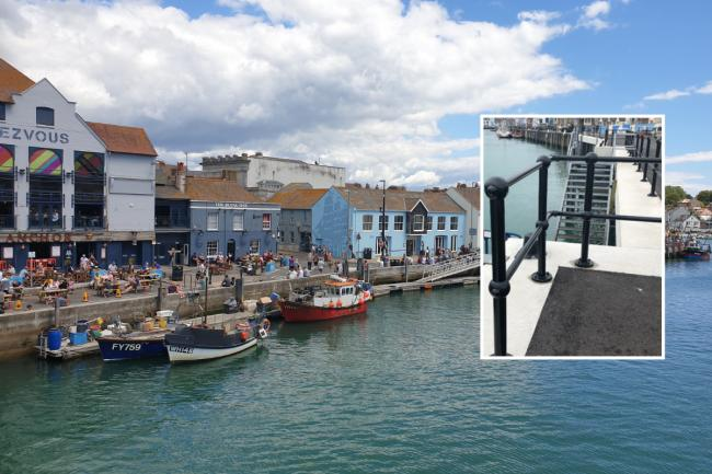 'I've visited more than 400 harbours all over the world - none had railings'