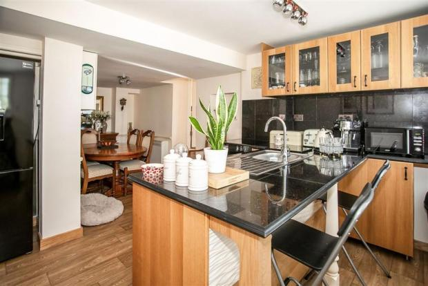 Dorset Echo: The property's kitchen/diner. Picture: Connells