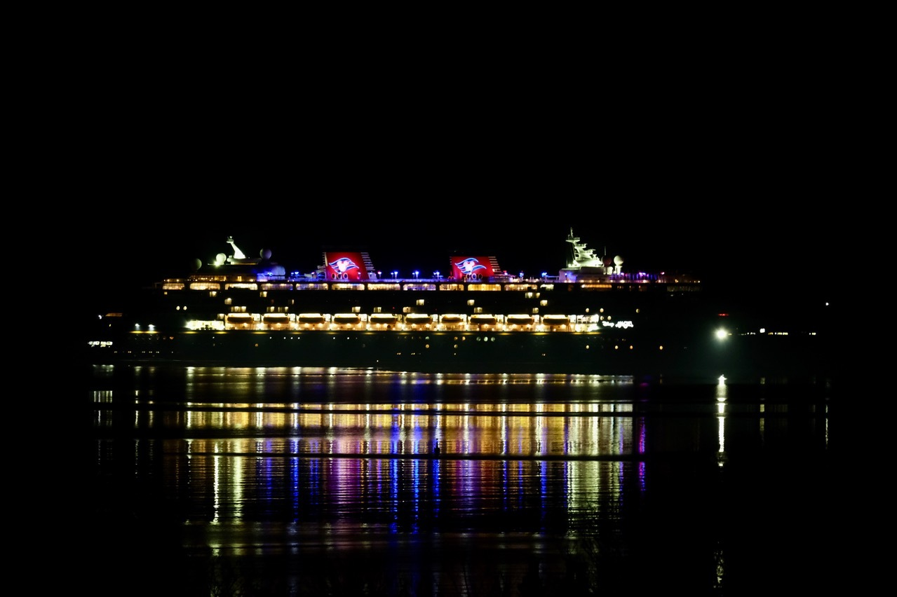 Disney Magic remains at Portland Harbour - this is what it's like on board
