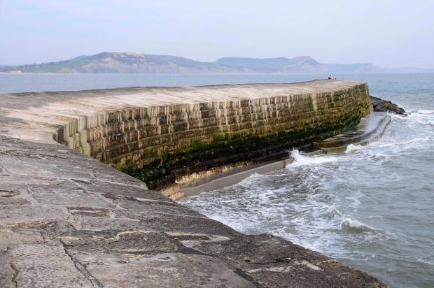 Dorset Echo: Work will continue on the walls of historic Cobb Harbor in Lyme Regis