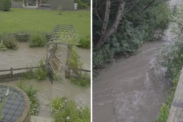 Dorset Echo: she captured the big stream on video