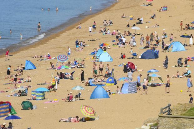 Dorset Echo: Hive Beach, Burton Bradstock