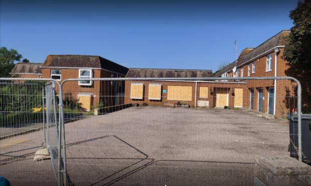 Dorset Echo: The building is now derelict Photo: Google Maps