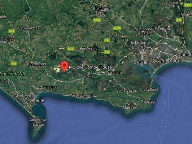 Dorset Echo: Domaine de Moigne Combe on Google Maps