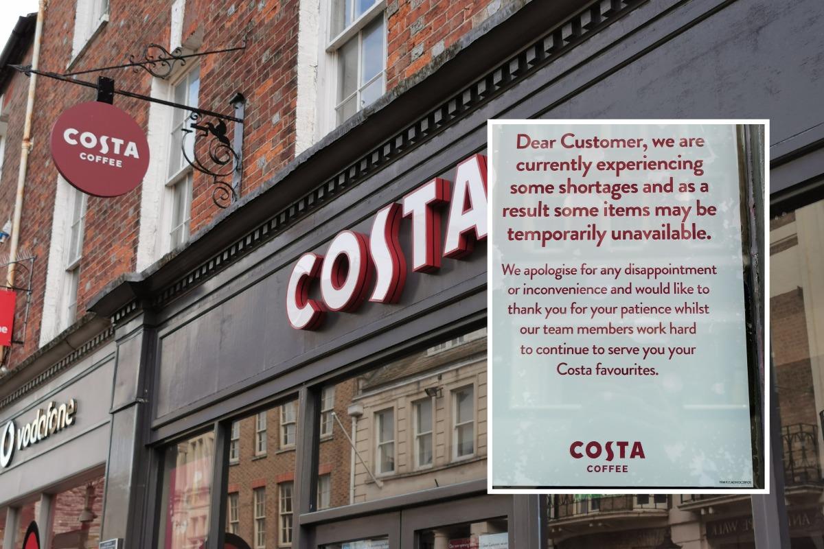 Latest on closure of Costa Coffee shop in Cornhill, Dorchester