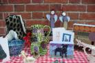 Just a sample of exhibits from the Real Christmas Craft Fair.