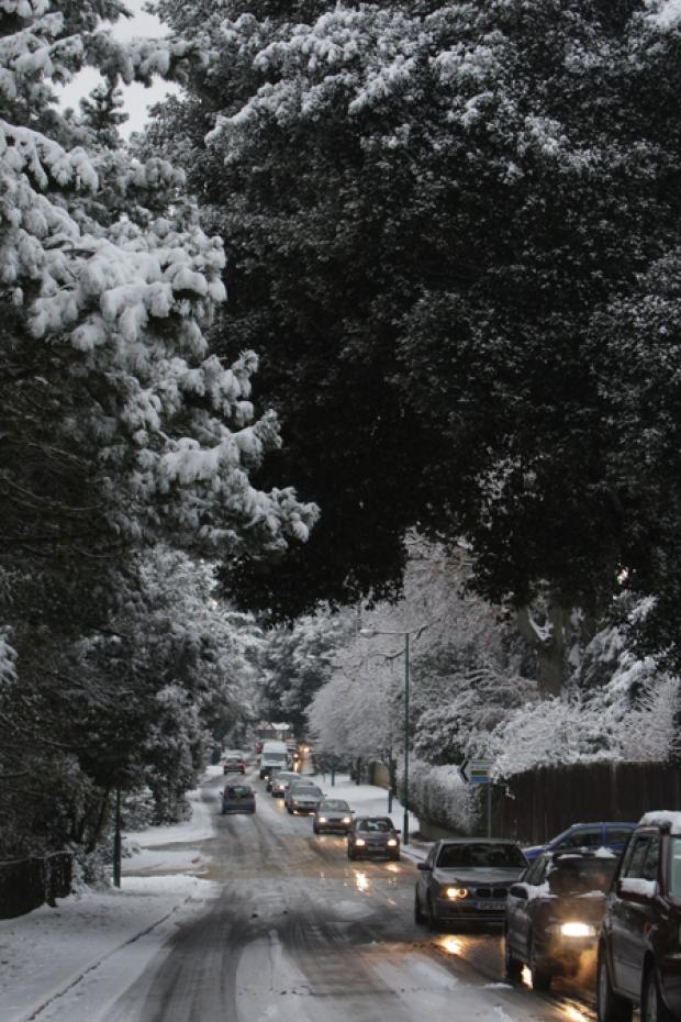 Weather latest:  Met Office warns of ice as temperatures set to plunge to -9C