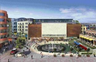 An artist's impression of Brewery Square