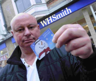 Anger over Weymouth WH Smith gift cards - 1532610