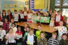 Year 6 pupils at Conifer Primary School