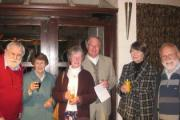 Friends of Puddletown library gather for the concert at Athelhampton House