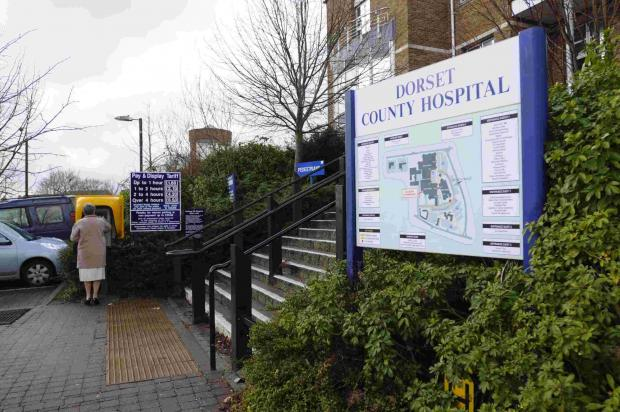 Man arrested after nurses attacked at Dorset County Hospital