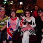 Dorset Echo: Mark, Beth, Alice and Vicky Budden at the Electric Palace