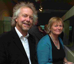 Meet the Ancesters presenter and archaeologist Julian Richards with his wife Sue