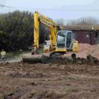 END OF THE LINE: The Wessex Raceway is dug up
