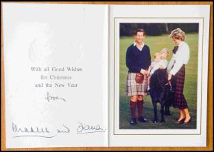 Prince Charles and Princess Diana with William and Harry