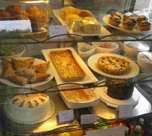 A HIDDEN TREASURE: A selection of the café's goodies