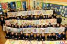 Sticklands Primary School celebrate a good Ofsted report