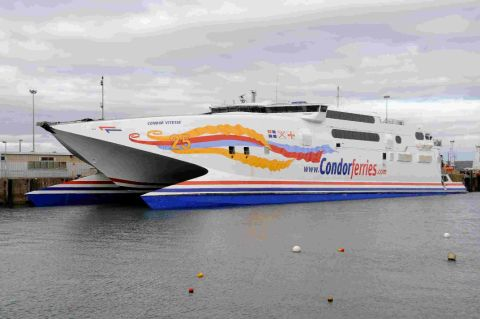 Three people injured and 41 cars damaged on board Condor Vitesse from Weymouth