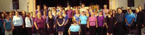 GETTING OUR FUNK ON: The Harmonious Funk Choir will be singing at St Mary's Church in Dorchester next Saturday, March 31