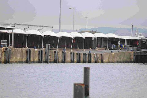 REAPIRS NEEDED: The harbour wall in Weymouth