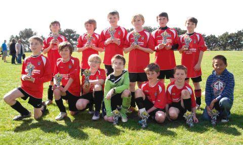 FINALISTS: Bridport Under-10s