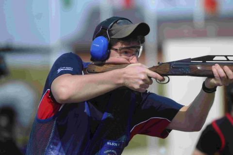 TARGET: Peter Wilson will look to retain his double-trap title in Brazil