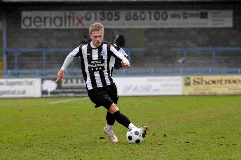 ON TARGET: Sam Malsom's opener did not prove enough for the Magpies