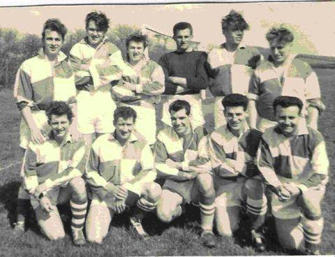 IN DOUG'S MEMORY: The AUWE (1959) team including former Weymouth mayor Doug Hollings