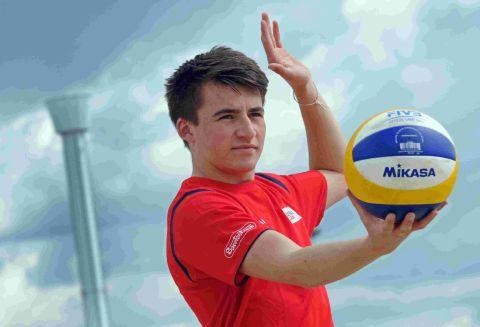 Dorset Echo: YOUNGEST EVER WINNER: Weymouth's Ryan Stout