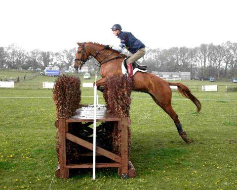 BOVINGTON BOUNTY: William Fox-Pitt won the British Eventing Novice class at Bovington Equestrian Centre, riding youngster Freddie Mac