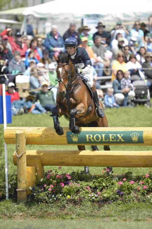GOLDEN DREAM: William Fox-Pitt