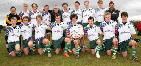 CHAMPIONS: The Dorset & Wilts squad
