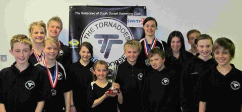 PERSONAL BESTS: Tornadoes of South Dorset swimmers