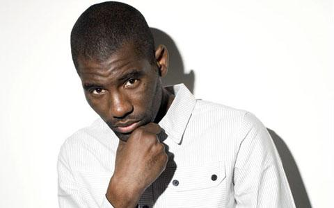 Wretch 32 performs as part of the Olympic Torch Relay celebrations on Friday