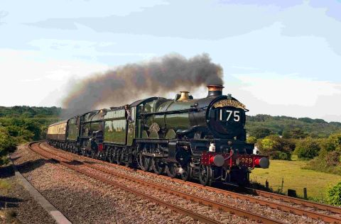 GOING LOCO: The Nunney Castle is one of the locomotives that will haul the Weymouth Seaside Express
