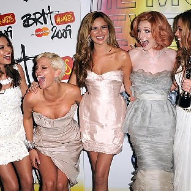 Members of Girls Aloud have been in the recording studio