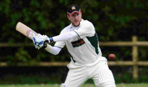 JAE'S JOY: Jae Miller hit 146 not out at Charlton Down