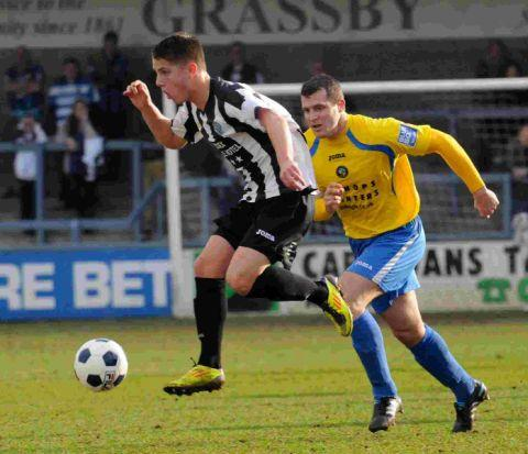 Dorset Echo: WAITING GAME: The Magpies are chasing three targets but they are not hopeful of loaning Tom Nichols, above, again