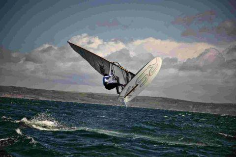 GOING? Olympic windsurfing may be scrapped