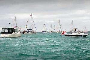 284 boats sail out for Weymouth's Diamond Jubilee Parade