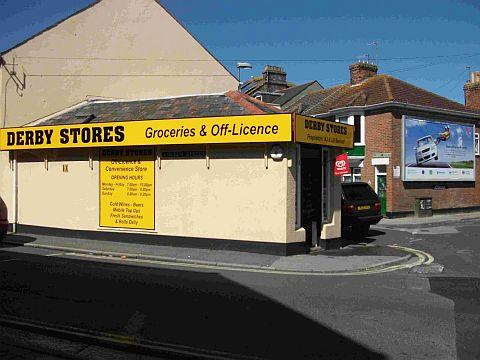 SCENE OF INCIDENT: Derby Stores, Derby Street, Weymouth