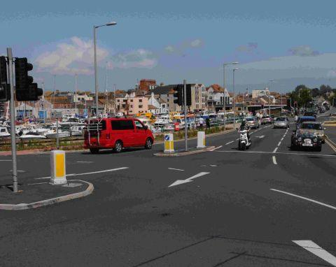 'DANGEROUS: A review of the harbour junction in Weymouth is being called for